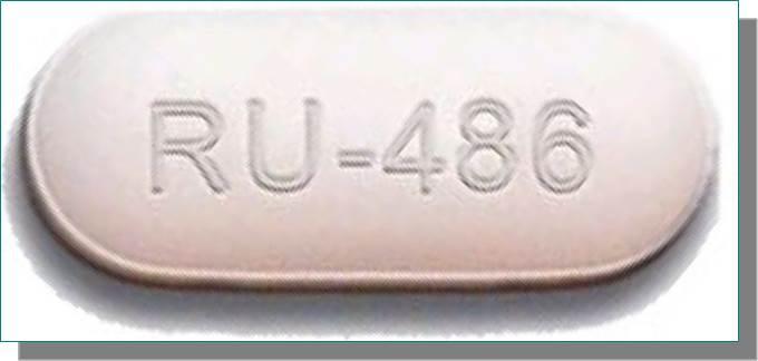 pillola ru486