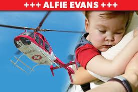 Alfie Evans elicottero