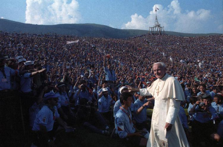 Giovanni Paolo II giovani