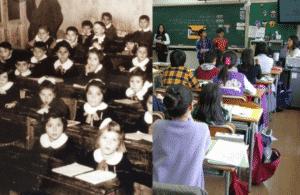 La scuola ieri e oggi